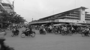 Kreuzung Battambang