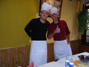 Marcel und Philipp - unsere Chefköche
