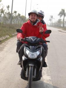 Simone und Marcel on the Road
