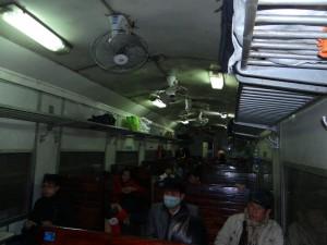 Holzklasse - Zug nach Hanoi