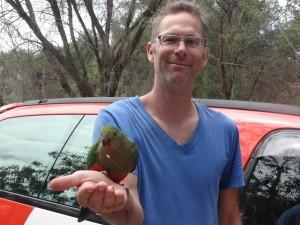 Philipp hat ein Vogel
