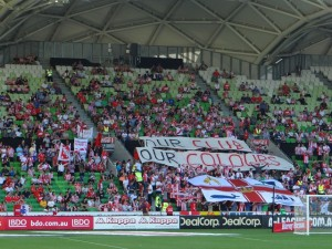 Supporter Melbourne Hearts