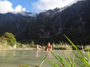 Natural Hot Pools Welcome Flat Hut