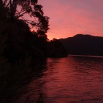 Sonnenuntergang Aussie Bay