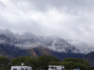 Wanaka im Schnee