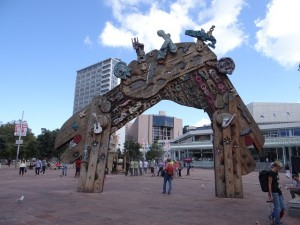 Aotea Square Auckland