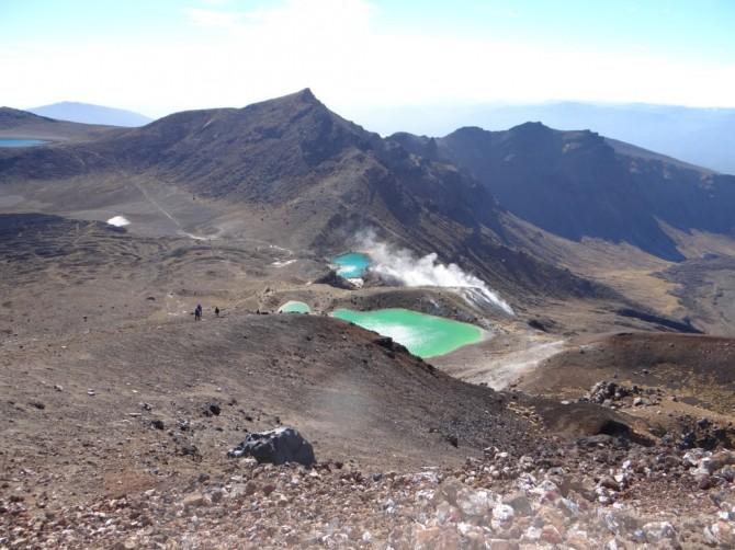 Mt. Dome und heiße Quellen