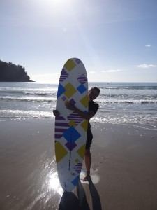 Unser Surfboard