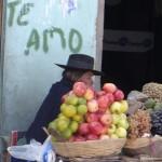 Obstverkäuferin in Potosi