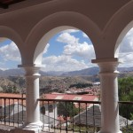 Blick vom La Recoletta