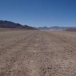 Straße in der Altiplano