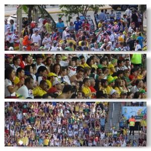 Fans beim Ghana Spiel