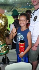 Junge aus Brasilien