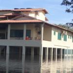 Unterkunft im Pantanal überflutet