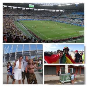 Vor und im Stadion