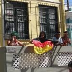 brasilianische Deutschland Fans