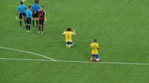 Brasilien am Boden zerszört