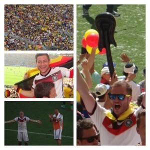 Deutschland gegen Frankreich WM 2014
