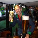 Philipp, der Pokal und der Biertower