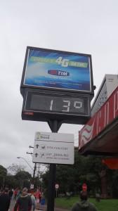 Porto Alegre 13 Grad
