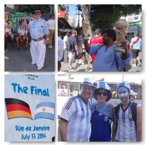 WM Finale gegen Argentinien 2014