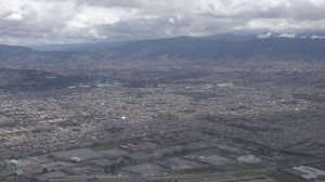 Bogota Luftaufnahme