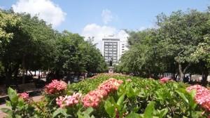 Park Simon Bolivar in Santa Marta