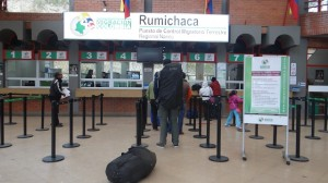 Passkontrolle Grenze Kolumbien