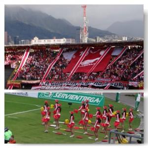 Santa Fe Bogota Fußballspiel