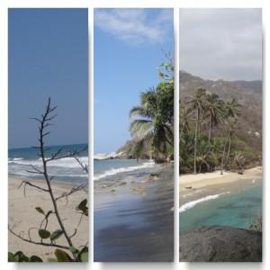 Strände Tayrona Nationalpark von La Piscina bis Al Cabo