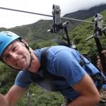 Philipp beim Canopy