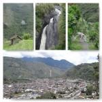 Wanderung nach Vizcaya und Blick auf Banos