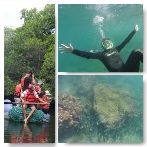 Schnorchel Spaß auf den Galapagos