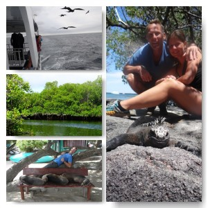 upnaway auf den Galapagos Inseln