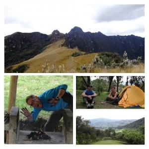 upnaway beim vulkan Pasochoa