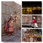 Cusco bei Tag und Nacht
