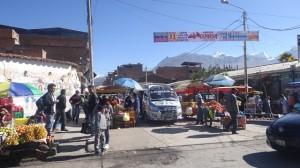 Huaraz vor der Haustür