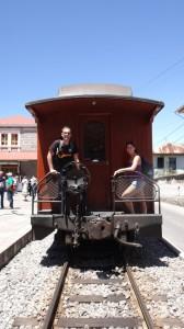 Upnaway - Zugfahrt Nariz del Diablo