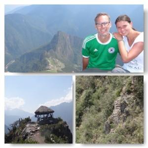 upnaway auf dem Montana Picchu