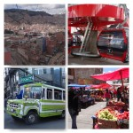 Über den Dächern und in den Strassenvon La Paz