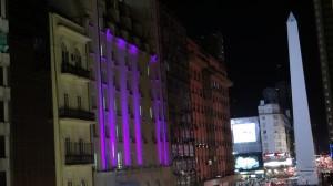 Broadway und Obelisk