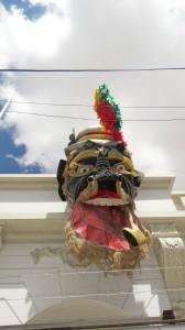 Karneals Maske in Oruro