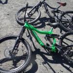 Unsere Bikes Deathroad
