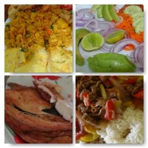 Essen in Peru