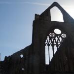 Schloss Ruine in Wales