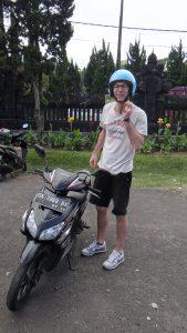 On the Road mit dem Roller, Lombok